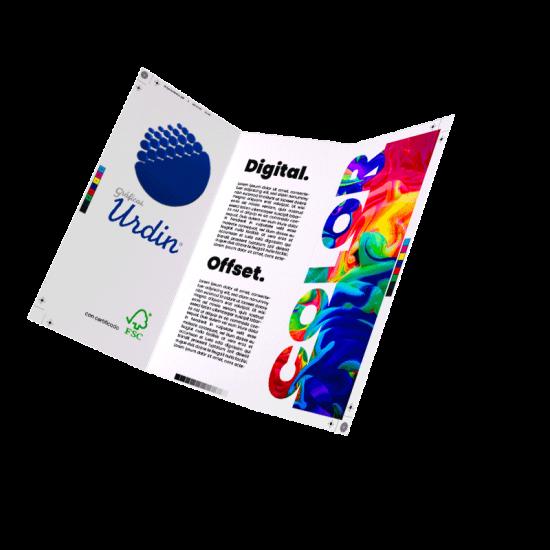 Imprenta digital y offset sostenible con certificado FSC® - Gráficas Urdin